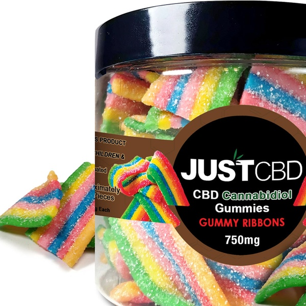 Rainbow Ribbons Gummy Jar by Just CBD Review