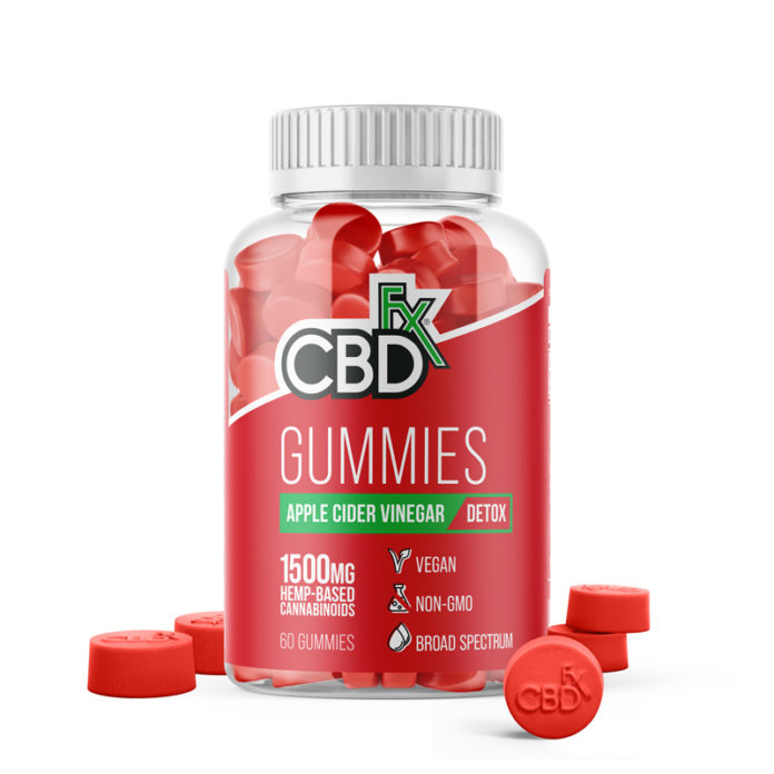 CBD Gummies with Apple Cider Vinegar by CBDFX Review - Does It Really Work For Anxiety?